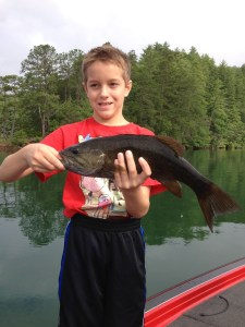 Hiwassee lake guide trip