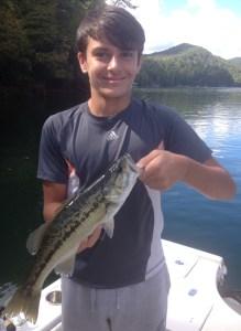 Lake Blue Ridge guide trip