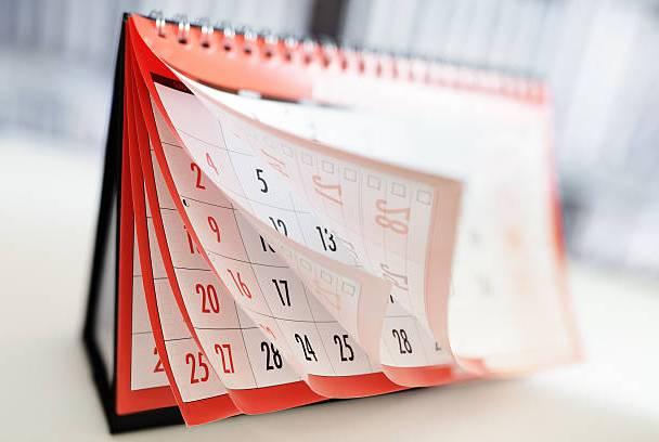 Fall Calendar Updates