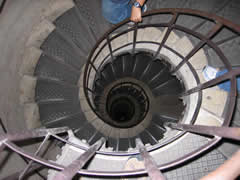 Scary spiral staircase
