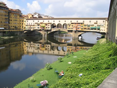 The Old Bridge in Florence