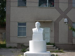 Bust of Lenin - still standing