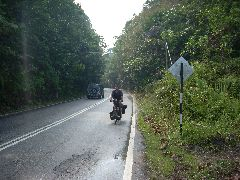 Jan riding in Malaysia