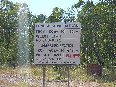 Arnhem road - 600km unsealed