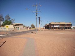 Coober Pedy main road