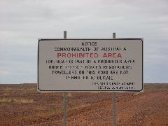 Woomera Prohibited Zone