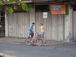 Riding around Trang