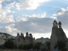 Penis-shaped rocks