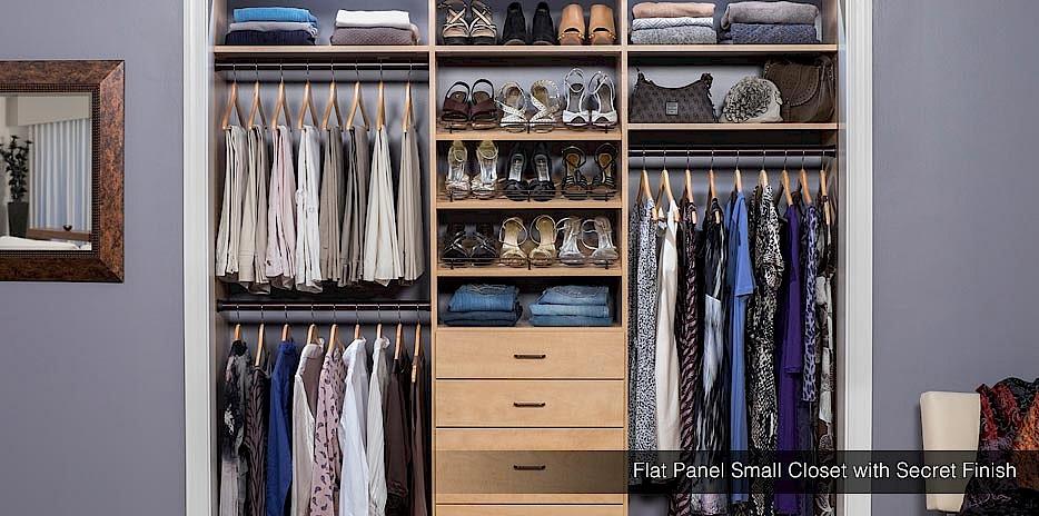 Reach In Closet Design Minnesota Small Closet Systems