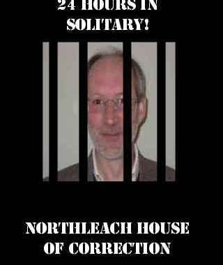 Chris Hancock in jail