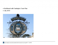 Northleach with Eastington Community Plan April 2011