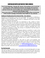 Town Council Newsletter January 2014
