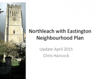 Northleach Neighourhood Plan Update April 2015