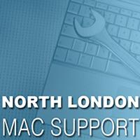 North London Mac Support Logo
