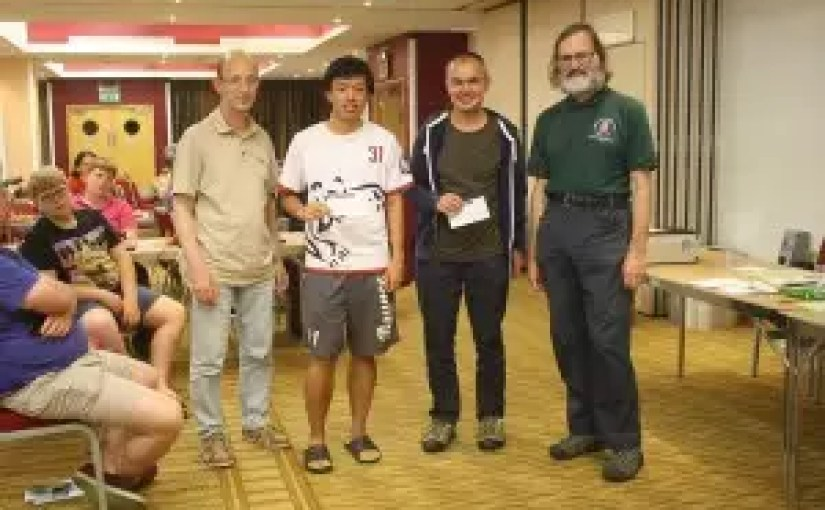 Well done to Jonathan Wells who won at the 2015 British Chess Championships: Week 2 PM Open