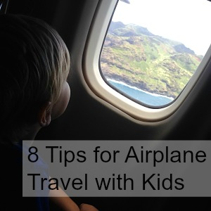 8 Tips for Airplane Travel with Kids