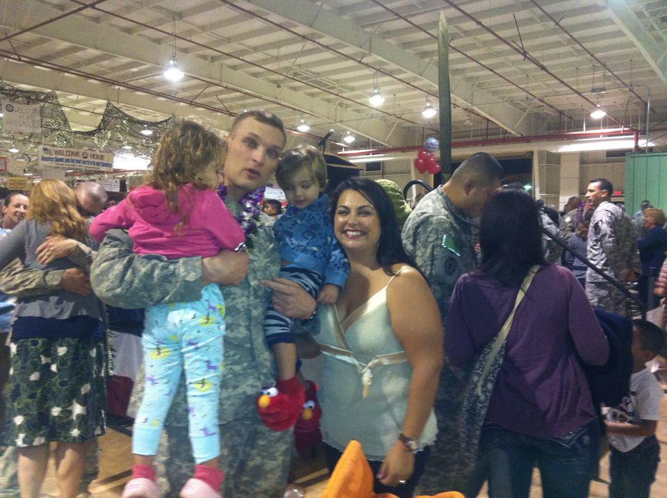 Reunion after Iraq deployment at the Hangar  (December 2011)