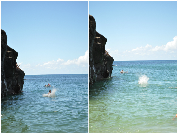 Waimea Bay Rock Jumping 4