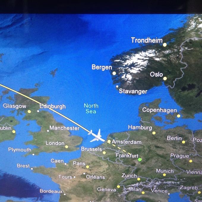 flight to germany