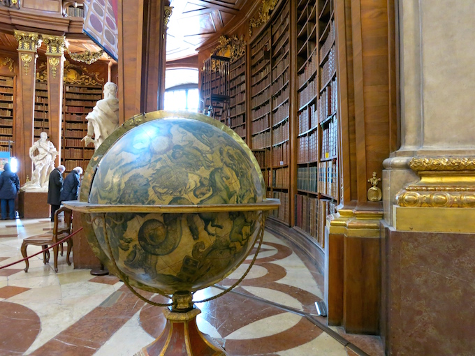 Globe Austrian National Library Vienna
