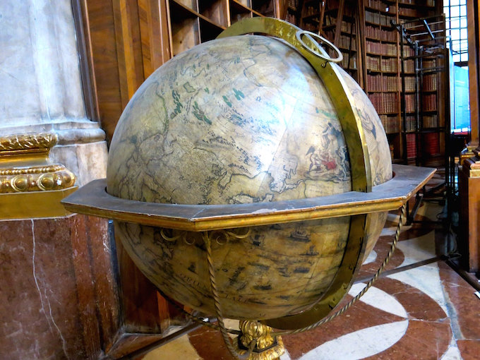 National Library Vienna Globe
