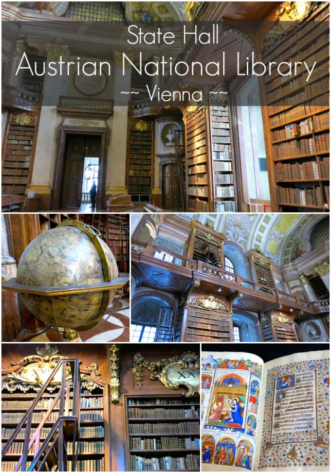 State Hall Austrian National Library Vienna