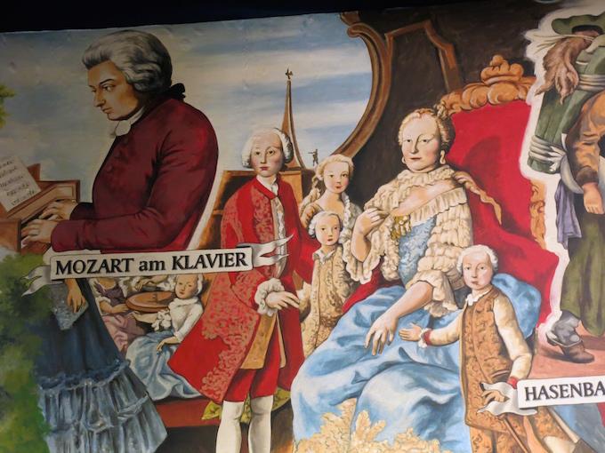 Vienna Mozart Mural