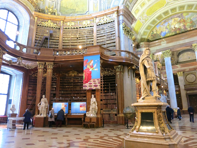 Vienna State Hall Austrian National Library