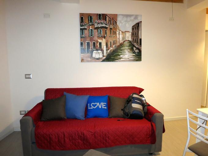 Residence Ca' degli Antichi Giardini Living Room