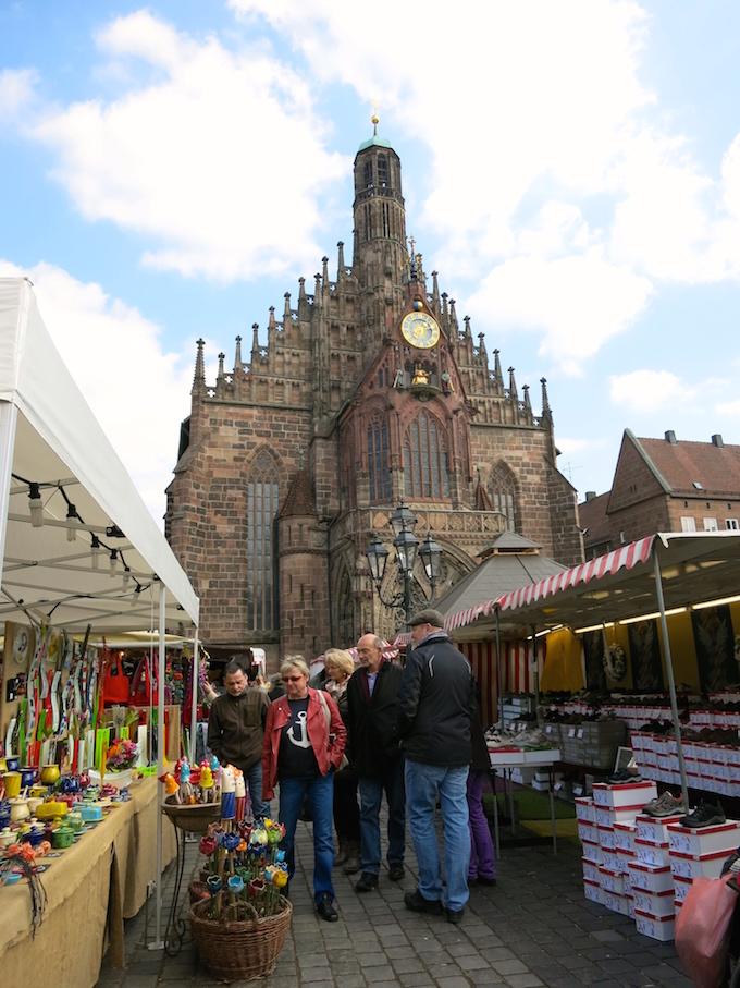 Nürnberg Ostermarkt Easter market