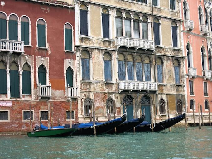 Venice Gondola Ride Line