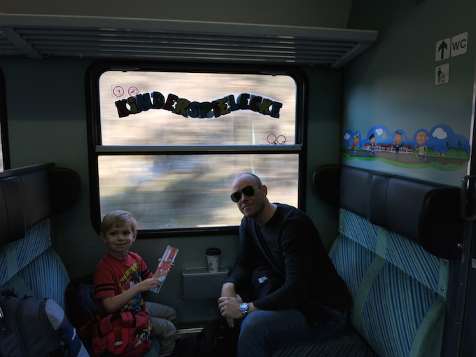 Train to Venice Kinder
