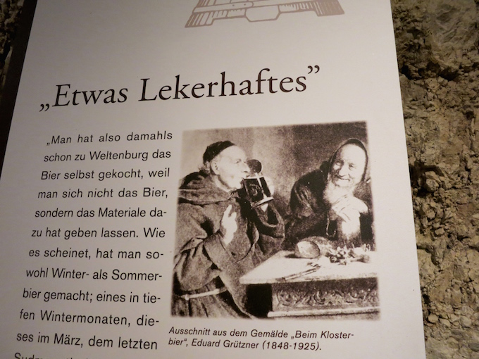 Weltenburg Monks Drink Beer