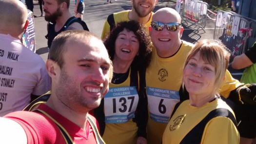 Obligatory start line selfie