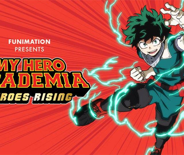 My Hero Academia Heroes Rising English Version North Park Theatre