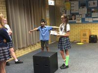Students learn to prevent bullying through drama