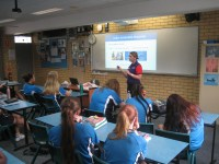 ACU presents to Year 10 students