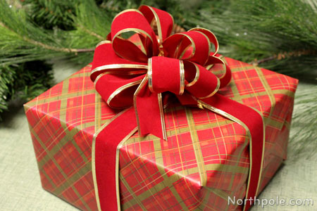 How To Wrap Gifts With Wired Ribbon