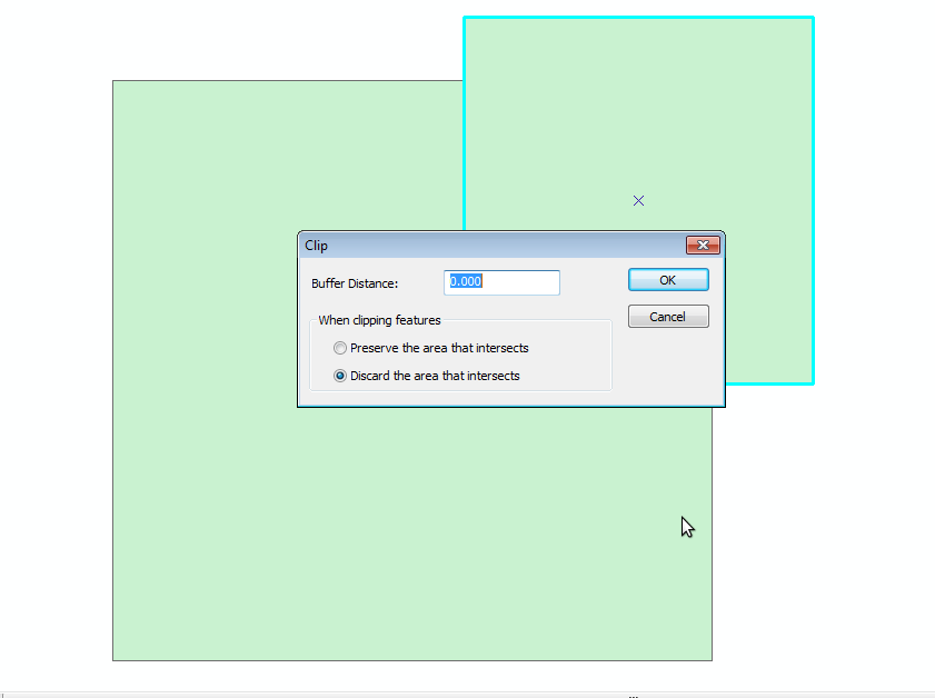 Clipping in ArcGIS and Clipping in QGIS • North River