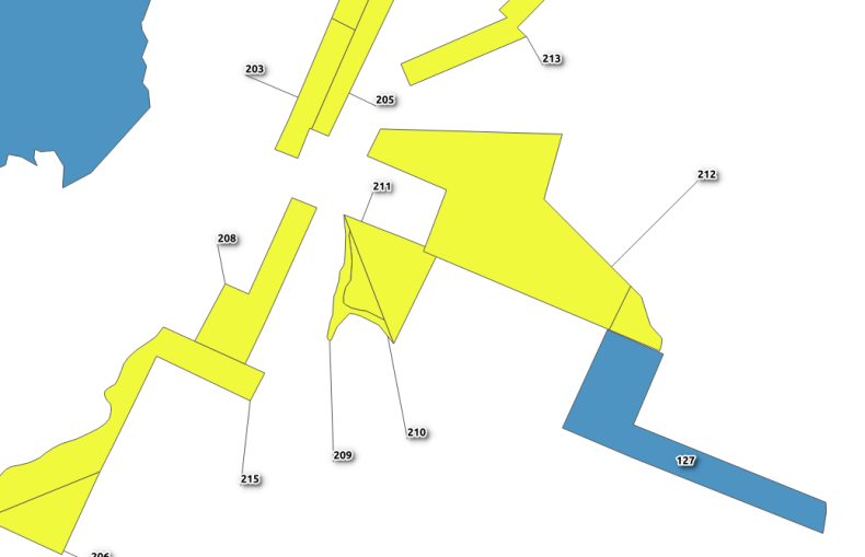 QGIS Leader Lines for Labels • North River Geographic Systems Inc