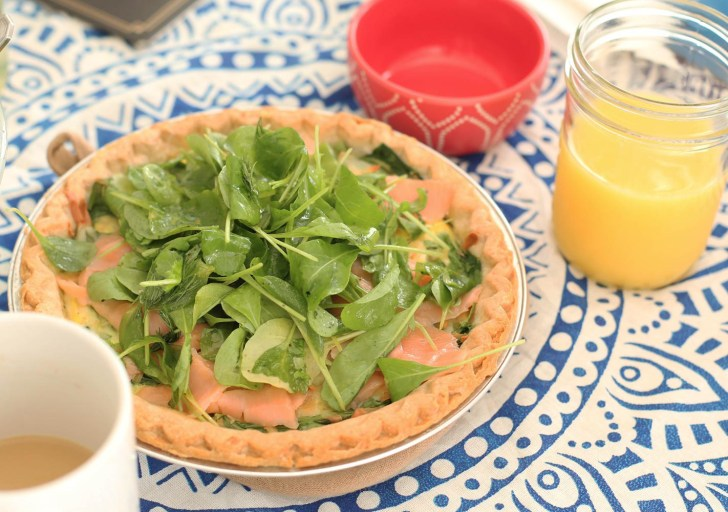 smoked-salmon and dill quiche header