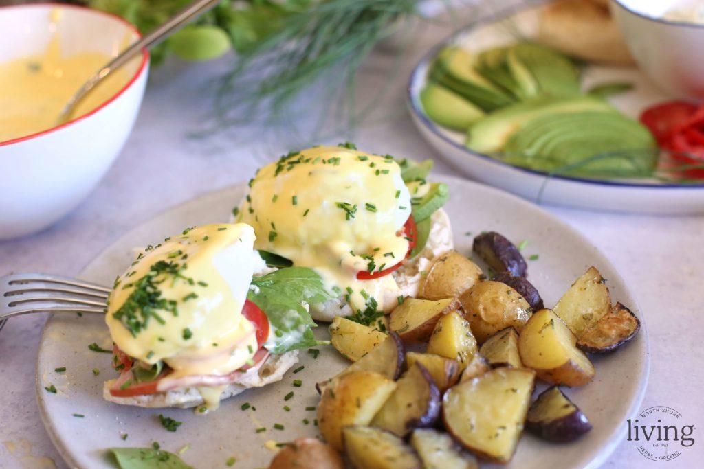 Eggs Benedict with Benefits