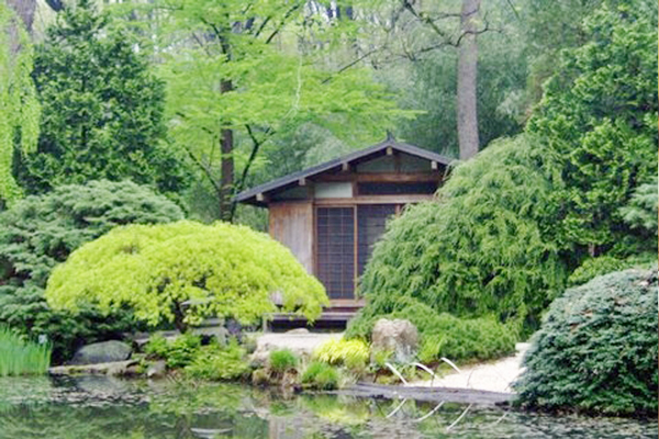 Humes Japanese Stroll Garden Tea House