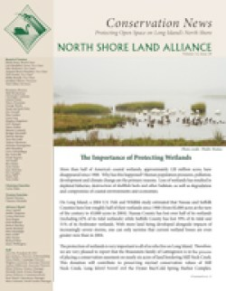 North Shore Land Alliance 2018 Fall Conservation News newsletter