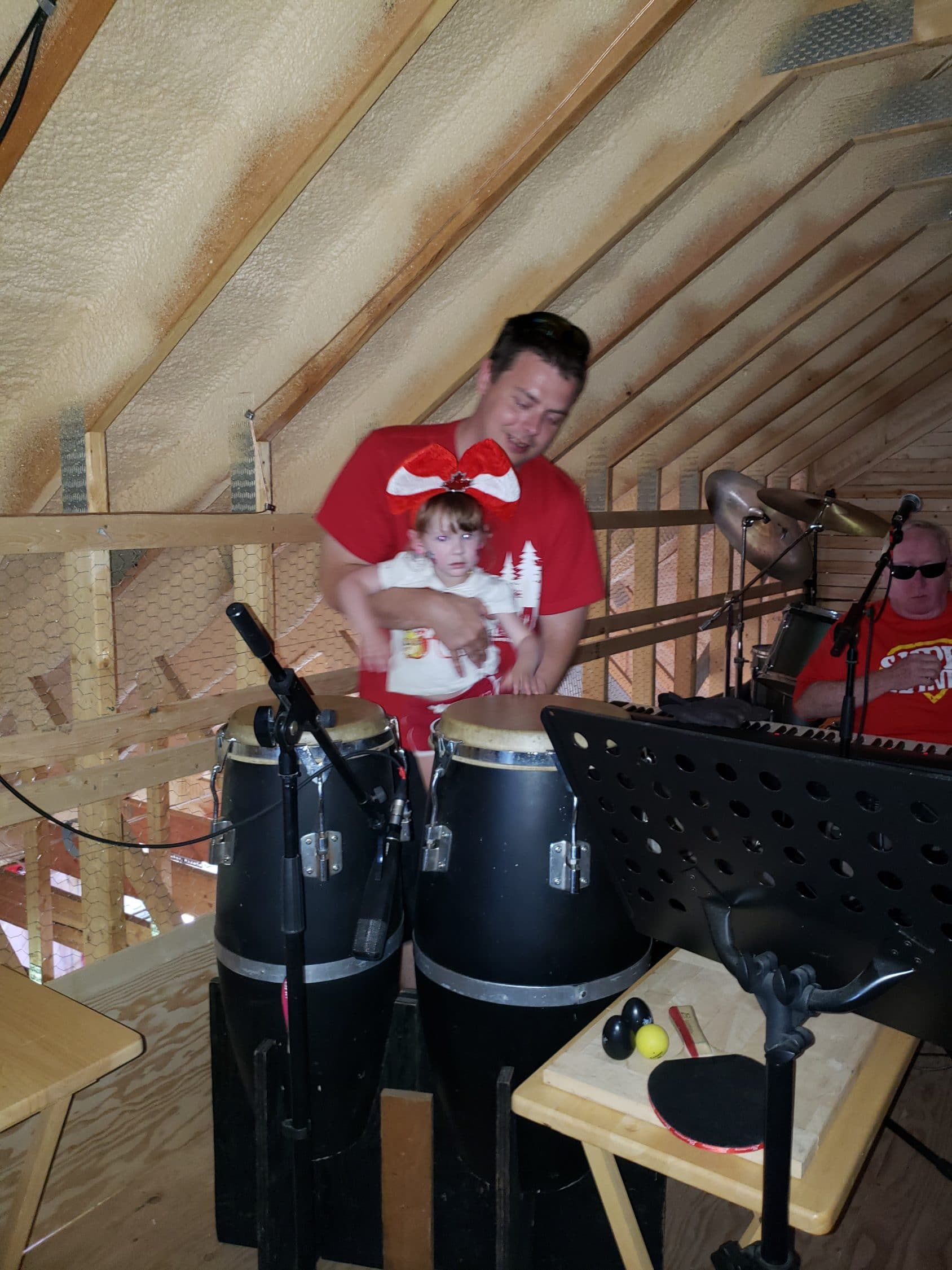 Congas With Daddy