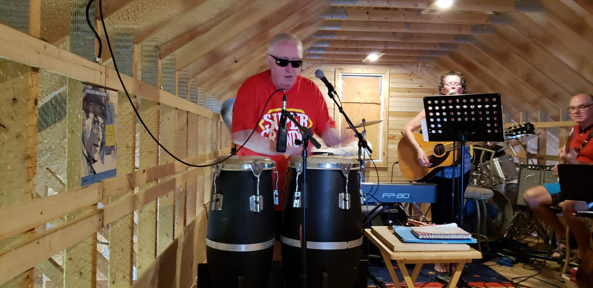 Dave Perry Plays Congas