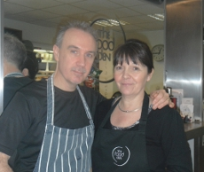 Paul and Lesley of the Food Den