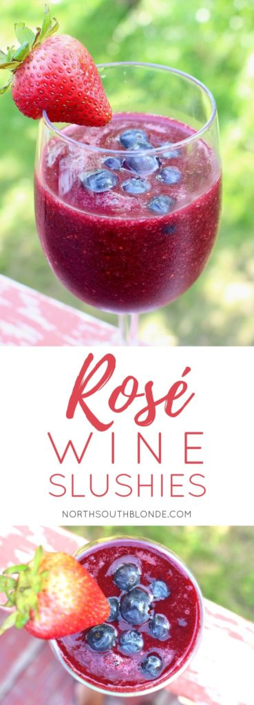Rosé Wine Slushies (Gluten-free, Vegan, Paleo)