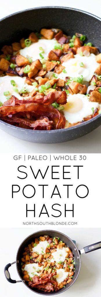 Sweet Potato Breakfast Hash (Gluten-Free, Paleo, Whole 30)
