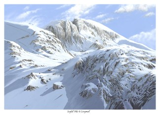 Scafell and Lingmell